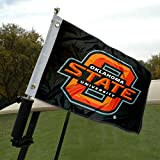 Oklahoma State University Golf Cart and Boat Flag