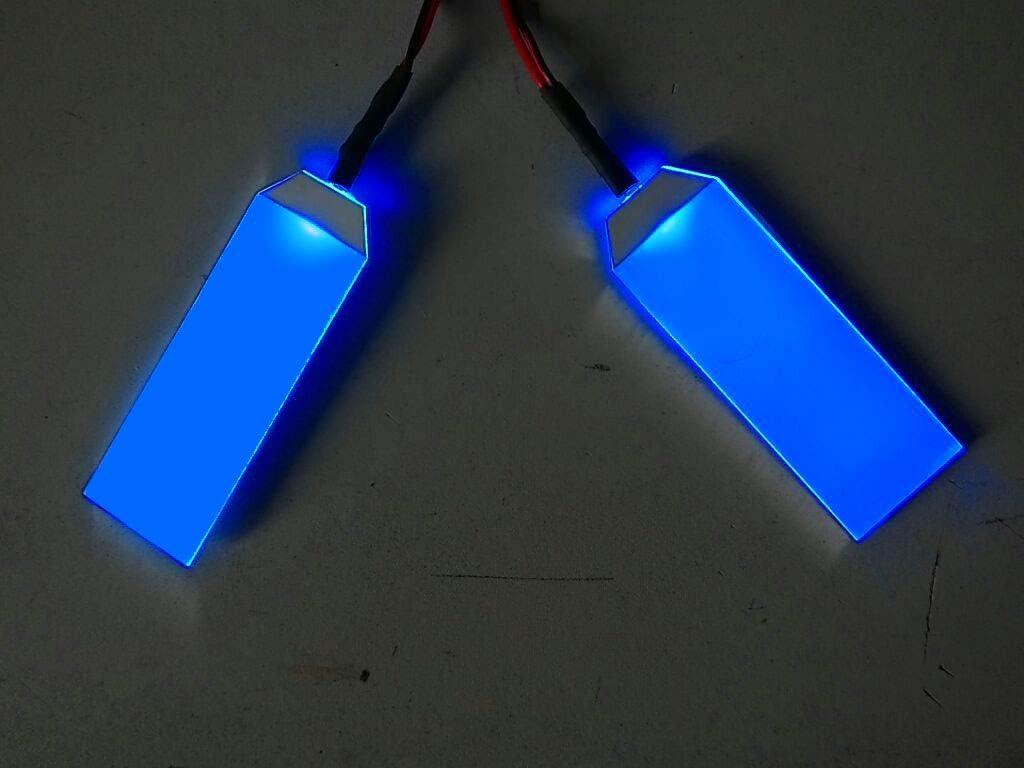 1 Accesorios de ojos de ojos de casco de ojos de luz LED para superh/éroes 1PC 1