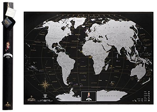 Best Banners GistGear - Scratch off us states maps for class with pencil