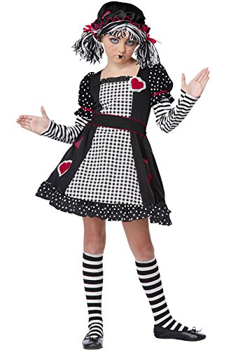 [California Costumes Rag Doll Child Costume, Small] (Halloween Costumes Scary Doll)