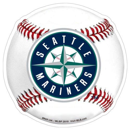 MLB Seattle Mariners 3D Baseball Magnets (Set of ()