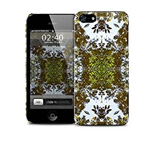 autumn leaves kaleidoscope pattern iPhone 5 / 5S protective case