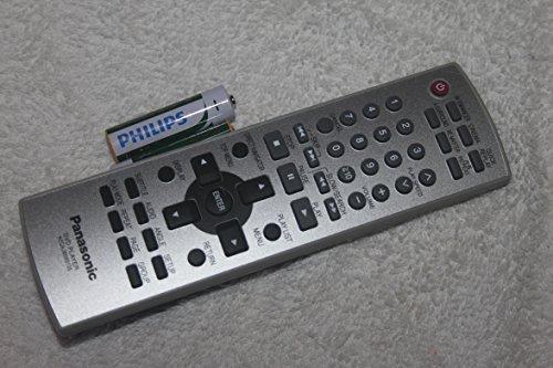 Panasonic N2qajb000105 Dvd Player Remote Control for Dvdls50, Dvdls53 with Batteries - Panasonic Dvd Player Battery