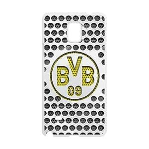 YYYT Metal Stil Borussia Dortmund BVB Cell Phone Case for Samsung Galaxy Note4