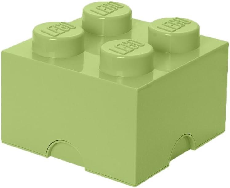 LEGO Storage Brick 4, SPR. Yellowish Green
