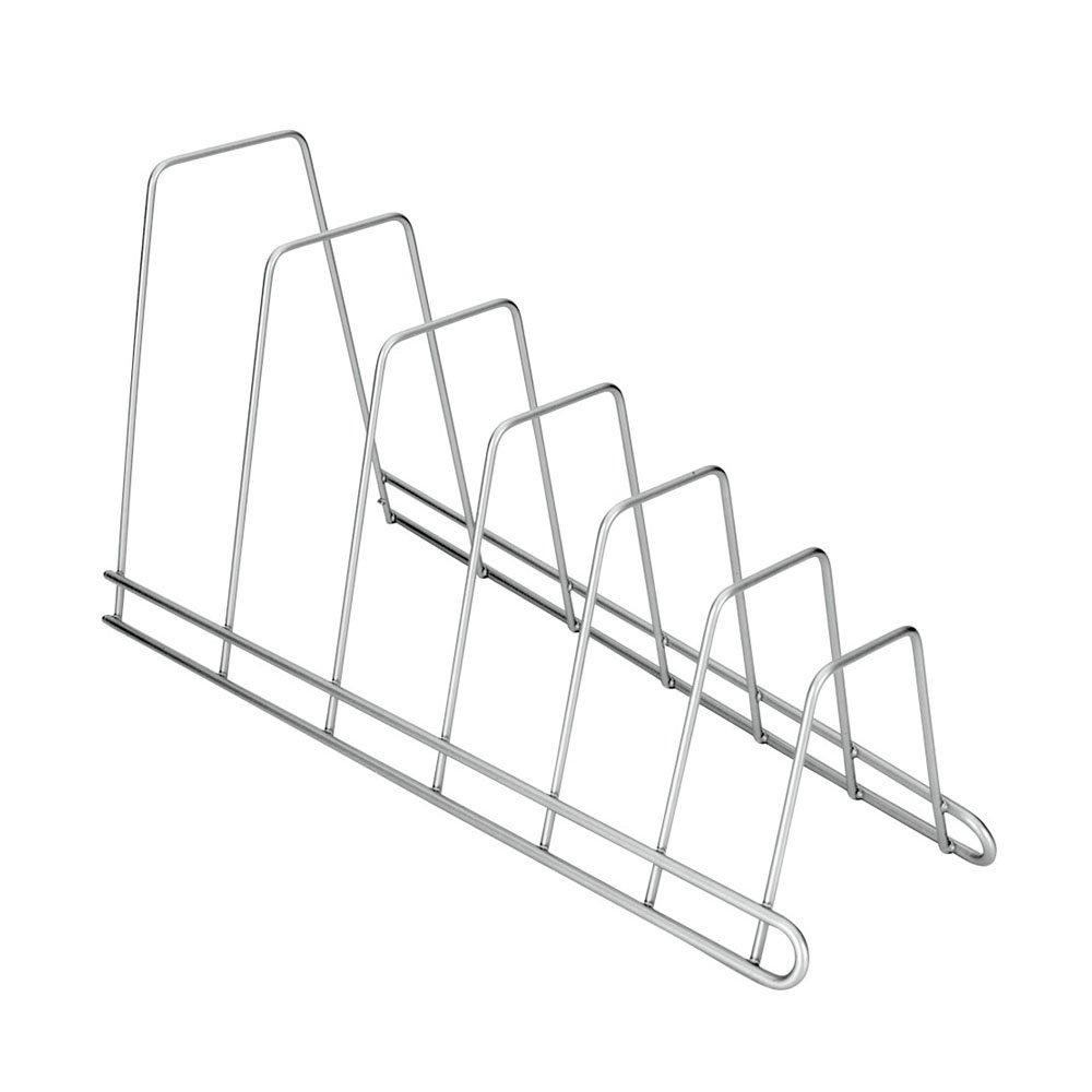 Soporte 4 tapaderas Metaltex Oscar banderas o tablas color blanco