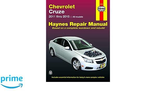 Chevrolet CRuze Automotive Repair Manual Haynes Automotive Repair Manual: Amazon.es: Haynes Publishing: Libros en idiomas extranjeros
