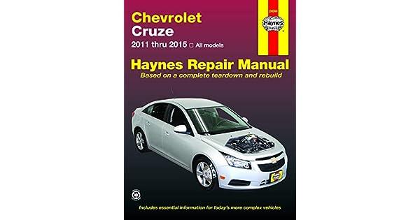 research.unir.net 2011-2015 Chevy Cruze Haynes Repair Manual Car ...