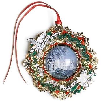 2013 white house christmas ornament the american elm tree - Amazon White Christmas Decorations