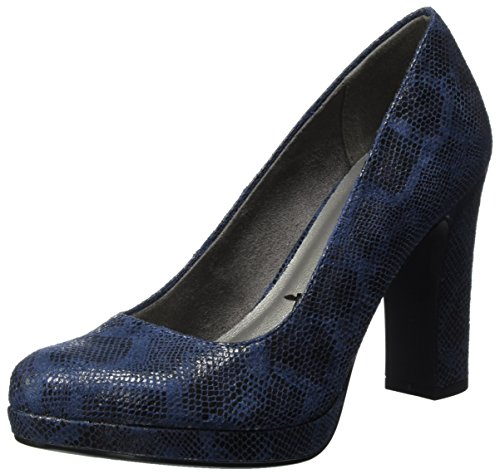 Tamaris Bleu Snake Navy Escarpins Femme 22435 SrAqwZaxS