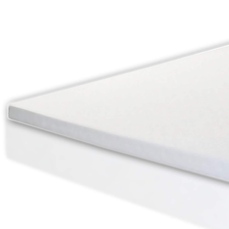Memory Foam Mattress Topper Twin XL Size - Made in The USA - 2 Inch Twin XL Memory Foam Topper - Next Level Comfort Twin XL Mattress Topper -3 Year Warranty