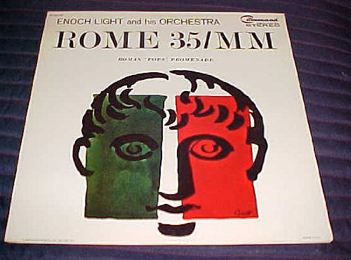 Rome 35/MM by Enoch Light and his Orchestra Record Album (Rome Five Light)