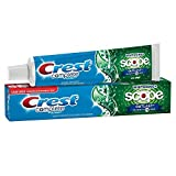 (3 Pack) Crest Complete Multi-Benefit, Whitening+ with Scope Outlast, Mint Flavor Toothpaste, 5.8 oz. ea.