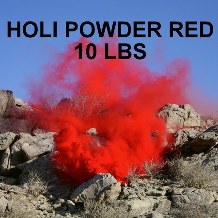 HOLI POWDER RED - 10LBS, BHARAT ONLINE BRAND - 2 TO 3 DAYS DELIVERY
