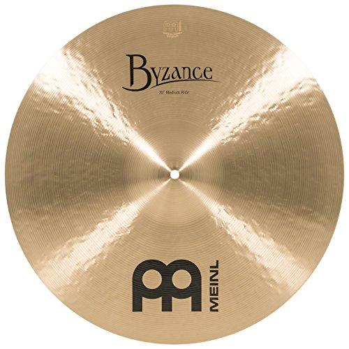 Meinl Cymbals B20MR Byzance 20-Inch Traditional Medium Ride Cymbal (VIDEO) ()