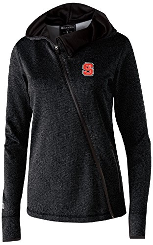 Wolfpack Nc State Jacket - Ouray Sportswear NCAA North Carolina State Wolfpack Women's Artillery Angled Jacket, Large, Black Heather