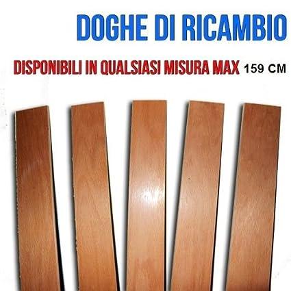 DOGHE DOGA PER RICAMBIO RETI DA LETTO MAX 159CM DI FAGGIO PER RETE ...