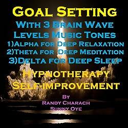 Goal Setting with Three Brainwave Music Recordings