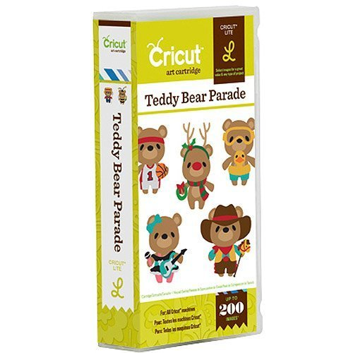 Provo Craft 2001440 Teddy Bear Parade Cartridge by Provo Craft