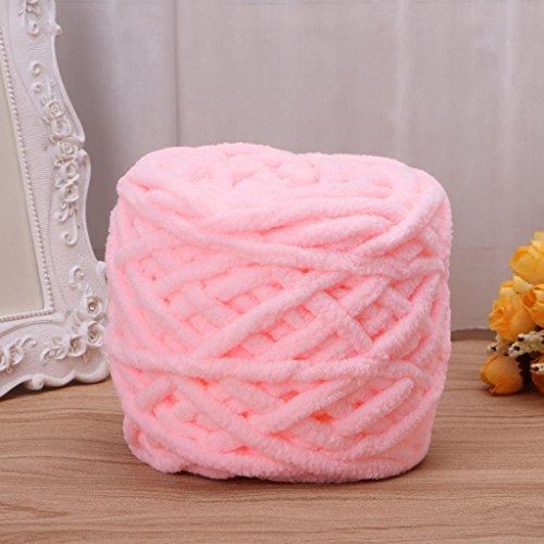 Peako 100g/1ball Soft Cotton Hand Knitting Yarn Chunky Woven Bulky Crochet Worested (2)