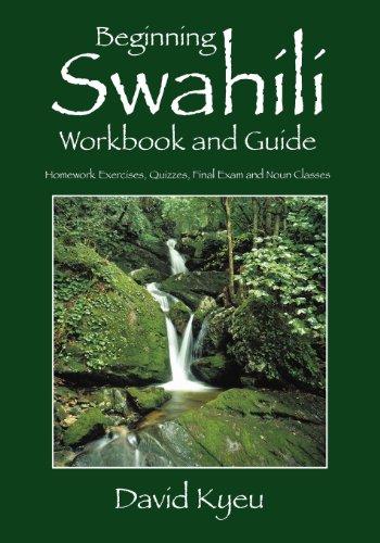 Beginning Shahili Workbook And Guide