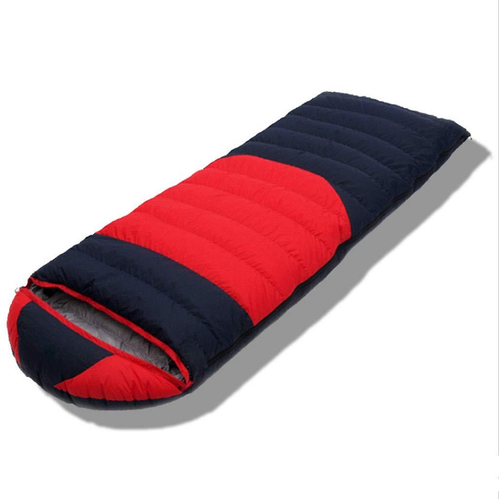 F 1.2kg DGB Adulte Sac De Couchage Enveloppe Extérieure Imperméable Et Coupe-Vent pour Camping Extérieur