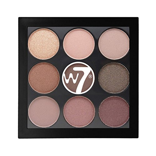 W7 The Naughty Nine Shades of Eye Colour Eyeshadow Palette-Mid Summer Nights