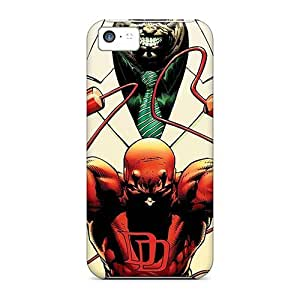 Protector Hard Cell-phone Cases For Iphone 5c (oUw20353TGJZ) Unique Design Realistic Daredevil I4 Series