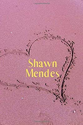 Shawn Mendes: Shawn Mendes Notebook 6x9 , Journal For Girls, Perfect for school, Writing Poetry, Diary Journal, Gratitude Writing, Dream Journal