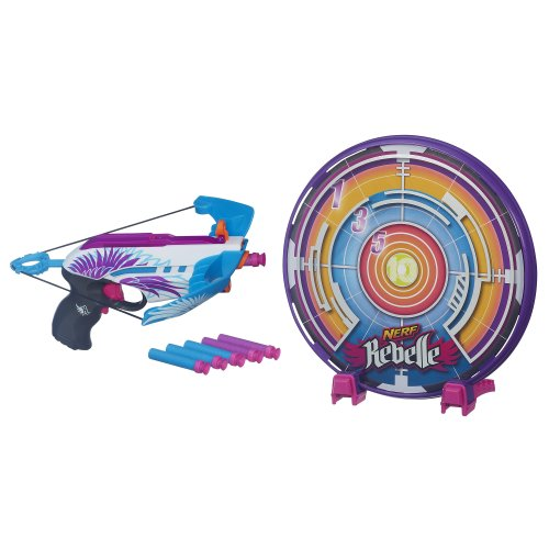 Nerf Rebelle Star Shot Targeting Set (Nerf Suction Dart Gun compare prices)
