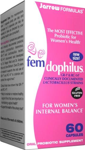 Femdophilus Probiotics By Jarrow Formulas – 120 Capsules (2 X 60 Caps), Health Care Stuffs