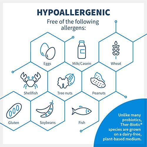 Klaire Labs Ther-Biotic Complete Probiotic - 25 Billion High CFU Blend, The Original Hypoallergenic Probiotic for Men & Women, Dairy-Free (120 Capsules) by Klaire Labs (Image #4)