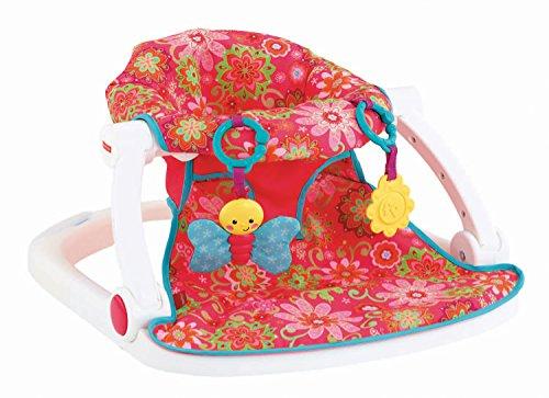 UPC 887961097474, Fisher-Price Sit-Me-Up Floor Seat, Girl