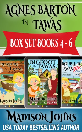 Maps Including Boxed - Agnes Barton In Tawas Box Set, An Agnes Barton Senior Sleuths Mystery series (Books 4-6)