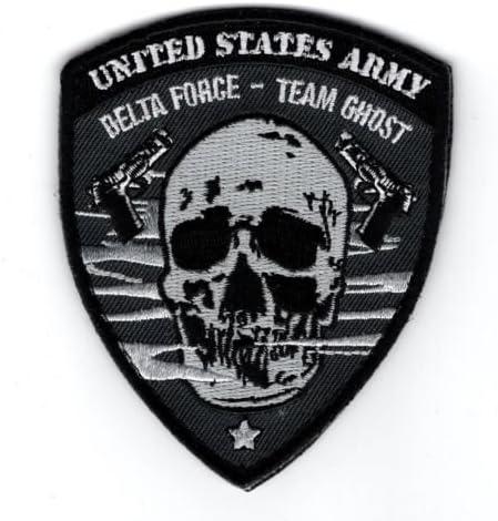 EE. UU. Ejército Delta Force Equipo fantasma moral parche de gancho: Amazon.es: Hogar