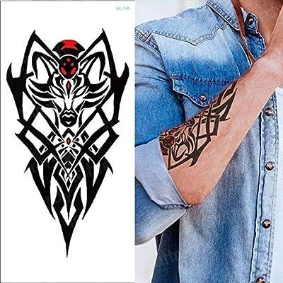 HXMAN 5 Unids Sketch Flower Pegatinas Mujeres Temporal Tatuaje ...