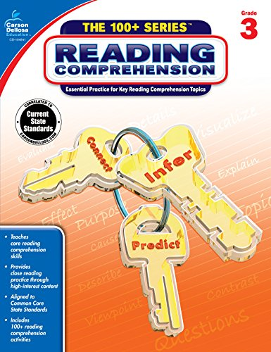 Reading Comprehension, Grade 3 (The 100+ SeriesTM)