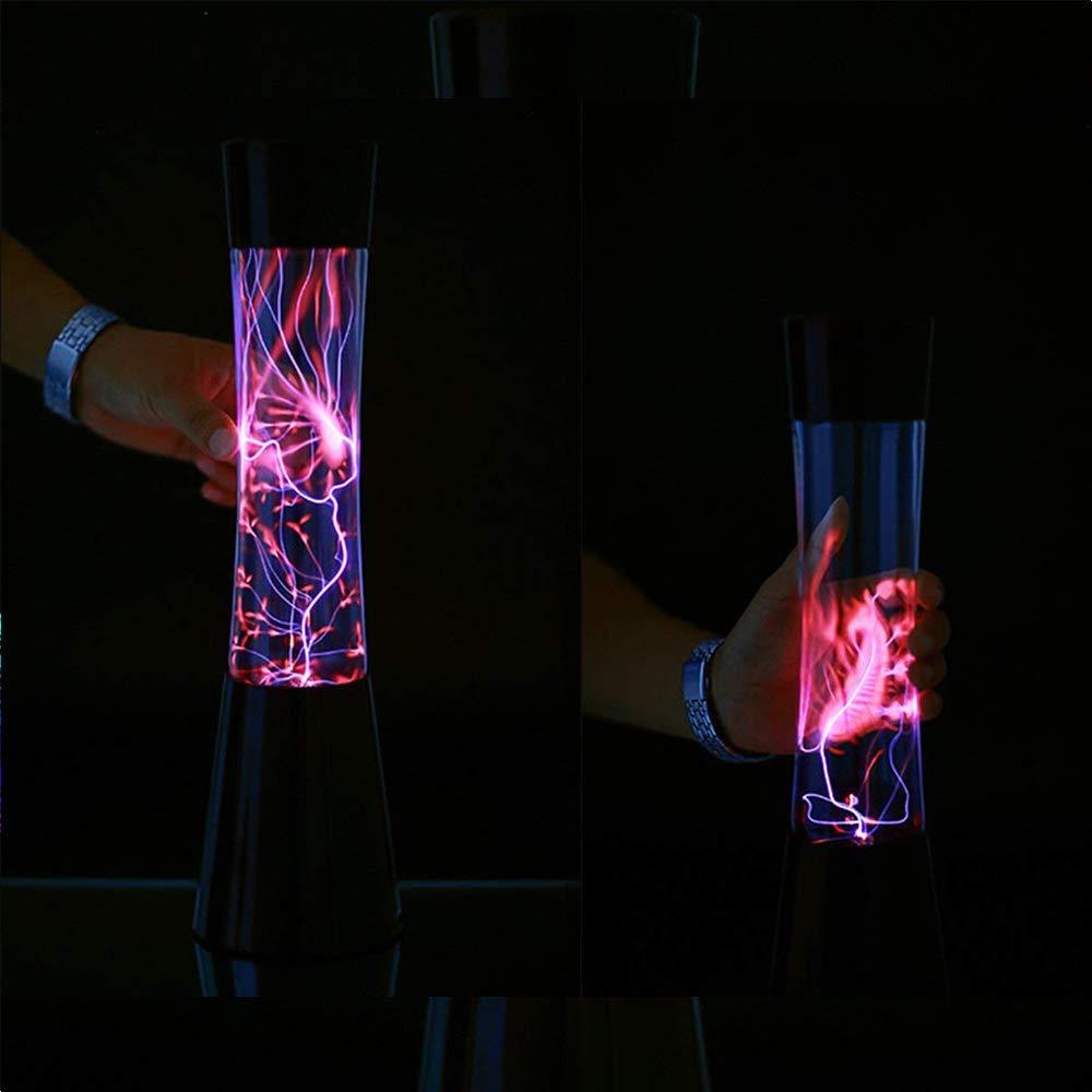 Touch-Und Sound-Steuerung SJLHP Plasmakugel Lange Plasma-Licht- Kinder//Erwachsene//Geburtstag//Party//Dekorative Nebel Ball Neuheit Wissenschaft Spielzeug