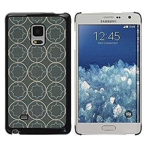 Paccase / SLIM PC / Aliminium Casa Carcasa Funda Case Cover para - Wallpaper Pattern Rustic Grey Gray - Samsung Galaxy Mega 5.8 9150 9152