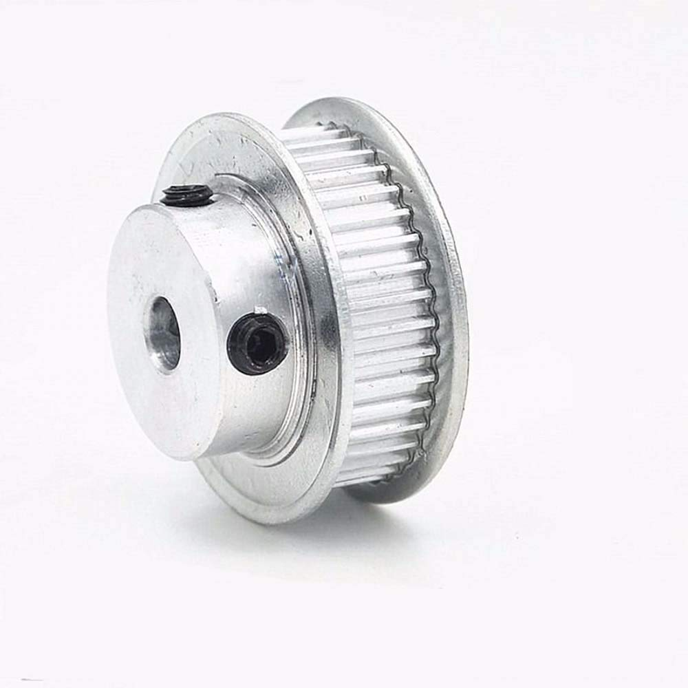 Tooth width:7mm, Bore:15mm MXL50T Timing Belt Pulley Gear Synchronous Wheel 15mm Bore For 6mm Belt