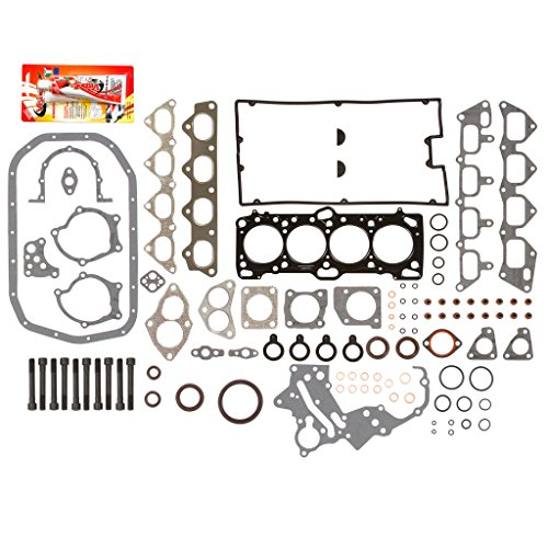 Fits 89-92 Mitsubishi Eagle Plymouth Turbo 2.0 4G63 4G63T High Performance Full Gasket Set Head Bolts ()