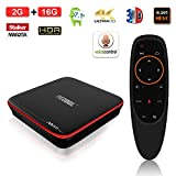 Edal M8S Pro W Voice Remote Control Android TV Box 2GB +16GB Android 7.1 DDR3 2.4G WiFi 4K Smart TV Box 64bit Quad-core ARM Cortex-A53
