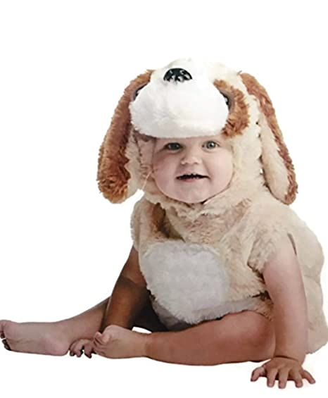 fd0bc7511b41 Amazon.com  Infant Costume Cuddly Dog Puppy Halloween (12-18 Months)   Clothing