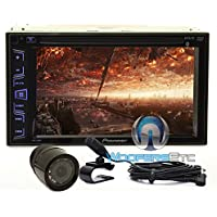 Pkg Pioneer AVH-290BT In-Dash 2-DIN 6.2 Touchscreen DVD/MP3 Car Stereo Receiver with Bluetooth and iPod/iPhone Control + XO Vision HTC35 Waterproof Backup Camera with Nightvision