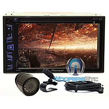 pioneer avh 280bt in dash dvd receiver with 6. Black Bedroom Furniture Sets. Home Design Ideas