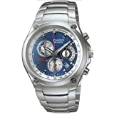 Casio EF507D-2A Men's Watch Stainless Steel Edifice Blue Dial Chronograph