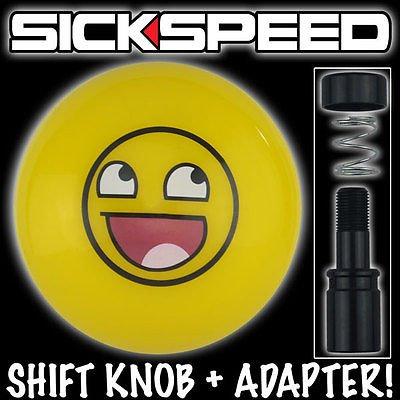 Colored Amazing Smiley Shift Knob For Corvette Auto/Automatic Gear Shift Lever