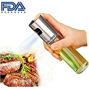 Portable Olive Oil Sprayer Oil Mister Kitchen and Grill Cooking Oil Trigger Sprayer Bottle