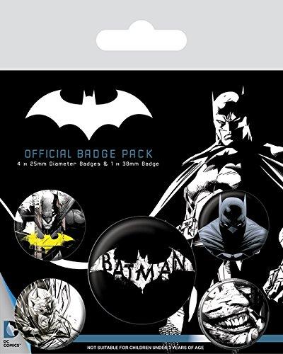 Pyramid International Batman Dark Badge, Multicolore, 10x 12.5x 1.3cm