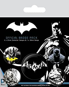 James Bond Pack DC - Badge Batman Dark: Amazon.es: Hogar